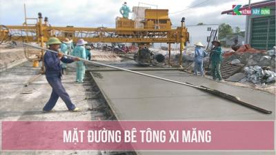 [BPTC] Biện pháp thi công và báo cáo kết quả rải thử mặt đường bê tông xi măng