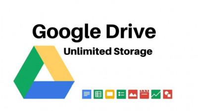Tài khoản Google Drive không giới hạn dung lượng