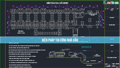[BPTC] Biện pháp thi công nhà