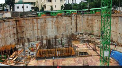 [Tài liệu] Biện pháp thi công tầng hầm