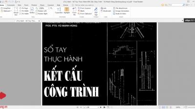 [Tài liệu] Sổ tay thực hành kết cấu công trình