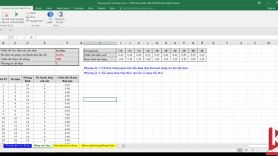 [Excel] Chương trình cắt thép tối ưu